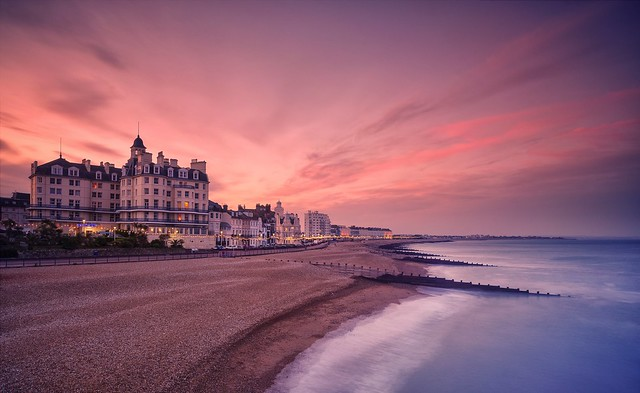 Seafront Sunset