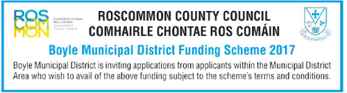 Boyle Municipal District Funding