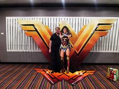 Wonder Woman Battle Armor Standee Me 18112