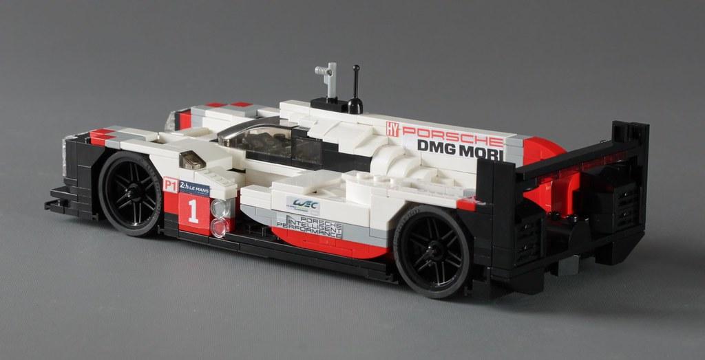 moc porsche 919 hybrid le mans race car in scale 1 20 lego scale modeling eurobricks forums. Black Bedroom Furniture Sets. Home Design Ideas