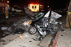 Valley Glen Collision Sends Two to Hospital