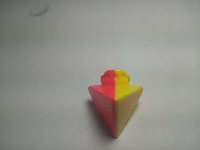 魔方教室 金字塔魔方 稜塊2