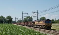 Class 66222 ECR et fret - Photo of Mézériat