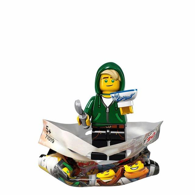 The LEGO Ninjago Movie 71019 Collectible Minifigures 18