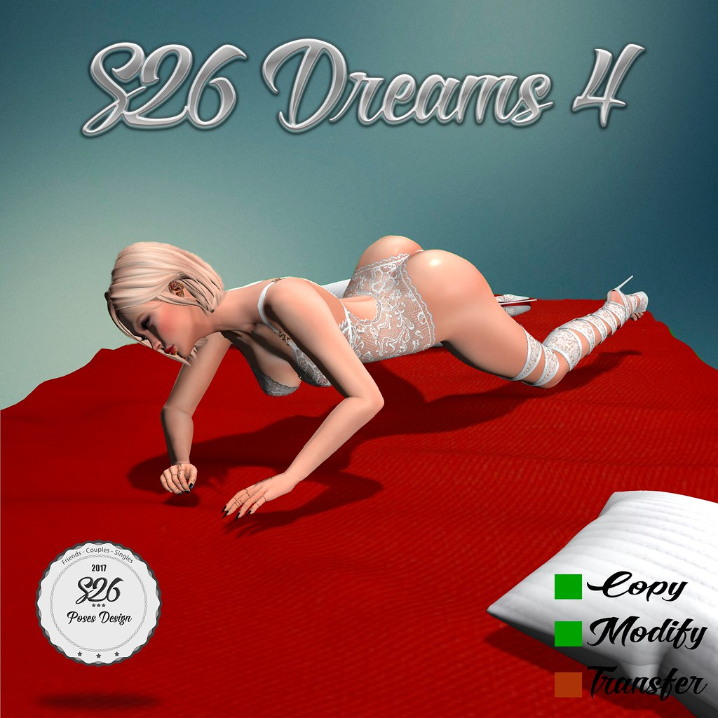 **New Pose S26 Dreams 4** - SecondLifeHub.com