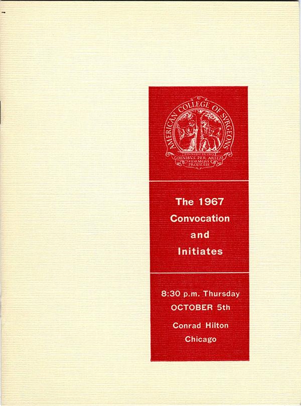 1967 Convocation Book