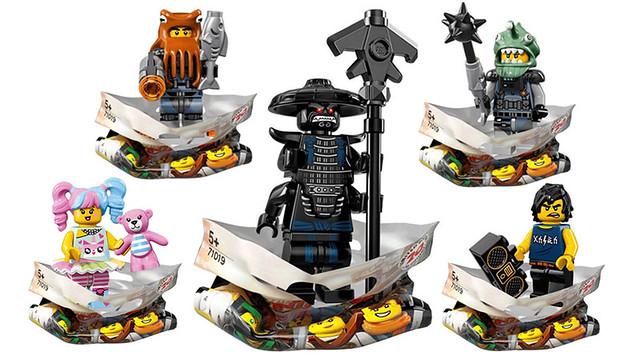 「全套20 隻公開!!」旋風忍者系列持續轟炸中!!LEGO 71019 旋風忍者電影系列【樂高旋風忍者抽抽樂】Ninjago Movie Collectible Minifigure Series