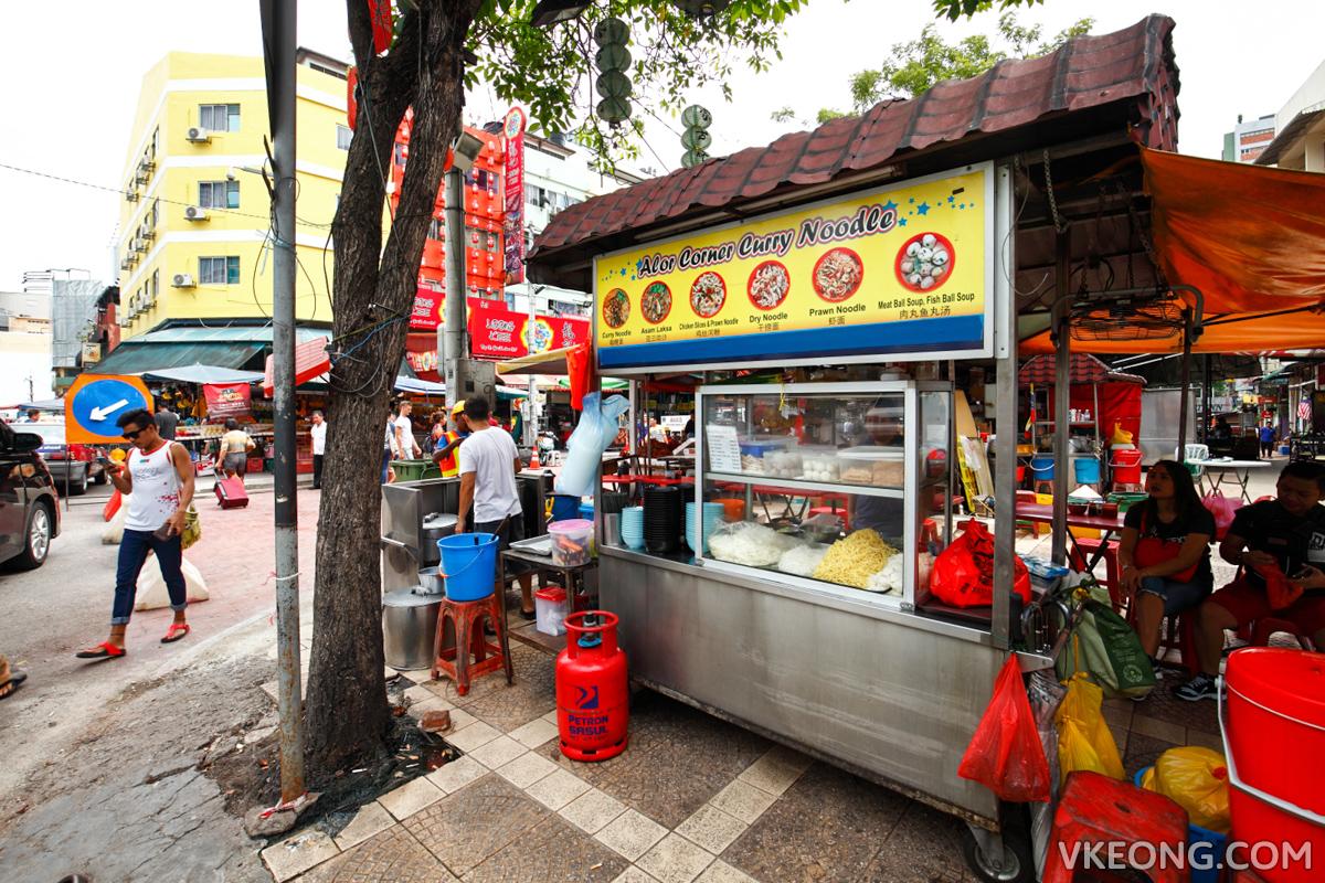 Alor Corner Curry Noodle KL