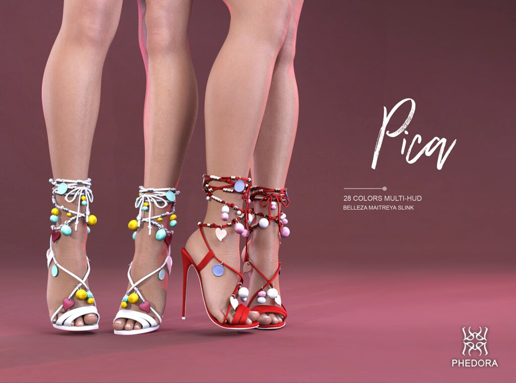 Phedora for Kinky Montly- Pica Heels! ♥ - SecondLifeHub.com