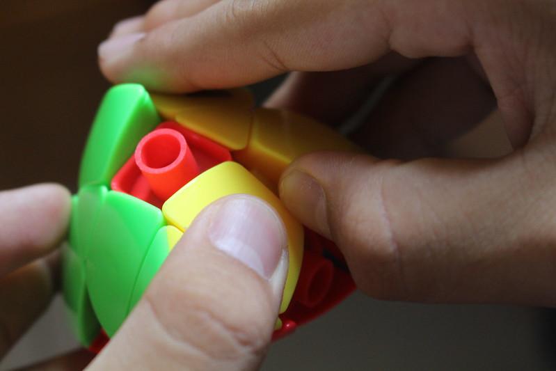 魔方教室 三階粽子 零件拆法2