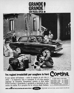 1964 Ford Cortina Ad (Italy)