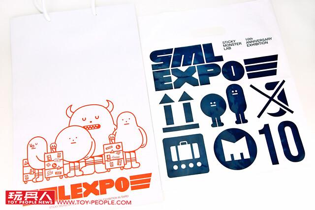 全球搶先看!!【SML EXPO 黏黏怪物研究所十周年展】展場限定品開箱報告!!