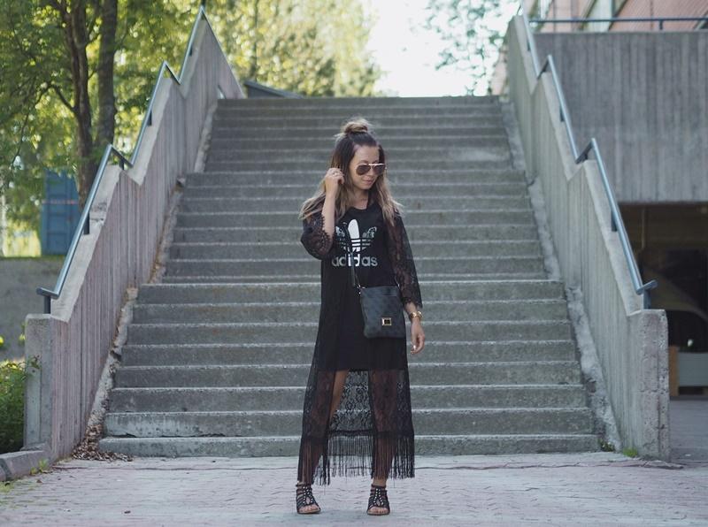 sunday-outfit-sunnuntain-asu-adidas-bikbok-rayban-guess