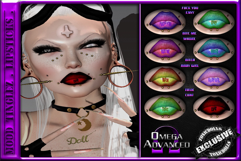 [TD] Mood TingleZ [LIPSTICKS] - SecondLifeHub.com