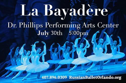 'La Bayadere' by the Russian Ballet Orlando