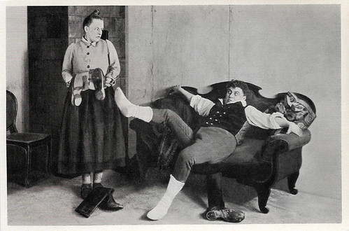 Henny Porten and Emil Jannings in Kohlhiesels Töchter (1920)