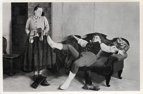 Henny Porten and Emil Jannings in Kohlhiesels Töchter (1920)