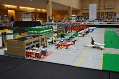 Moc Lego City Airport This Was My Main Moc At Brickworld Flickr