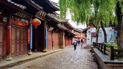 lijiang old town 麗江古城  yunnan of china