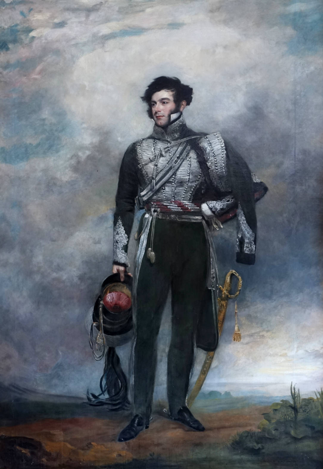 Richard Temple-Nugent-Brydges-Chandos-Grenville, 2nd Duke of Buckingham and Chandos by John Jackson, 1830