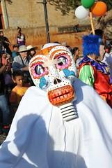 Masked Man Oaxaca Mexico
