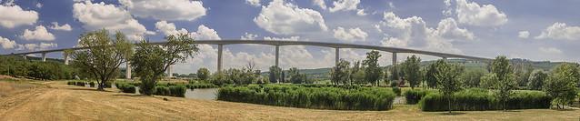 Valley bridge Koroshegy, Hungary