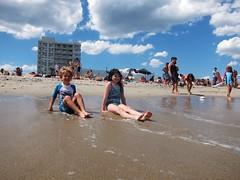 Everett And Irene On The Beach