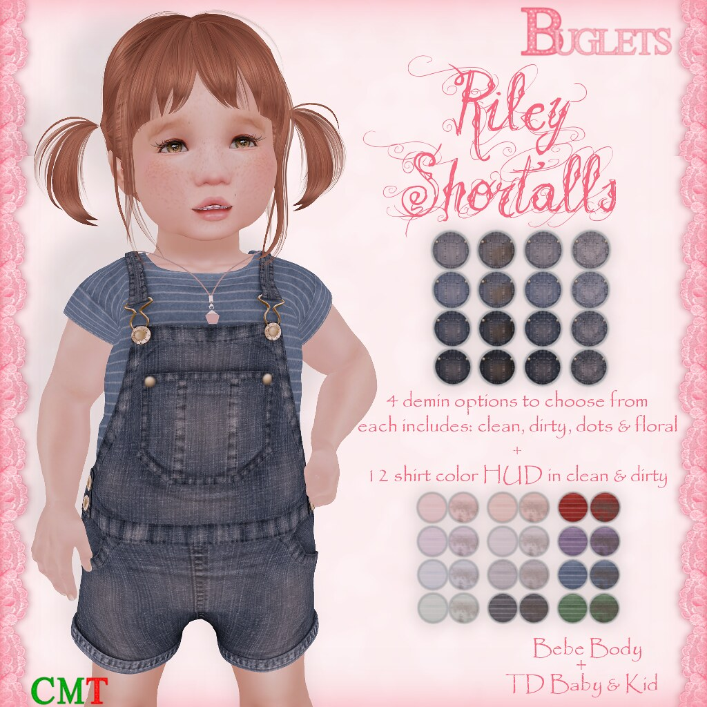 Riley Shortalls AD - SecondLifeHub.com