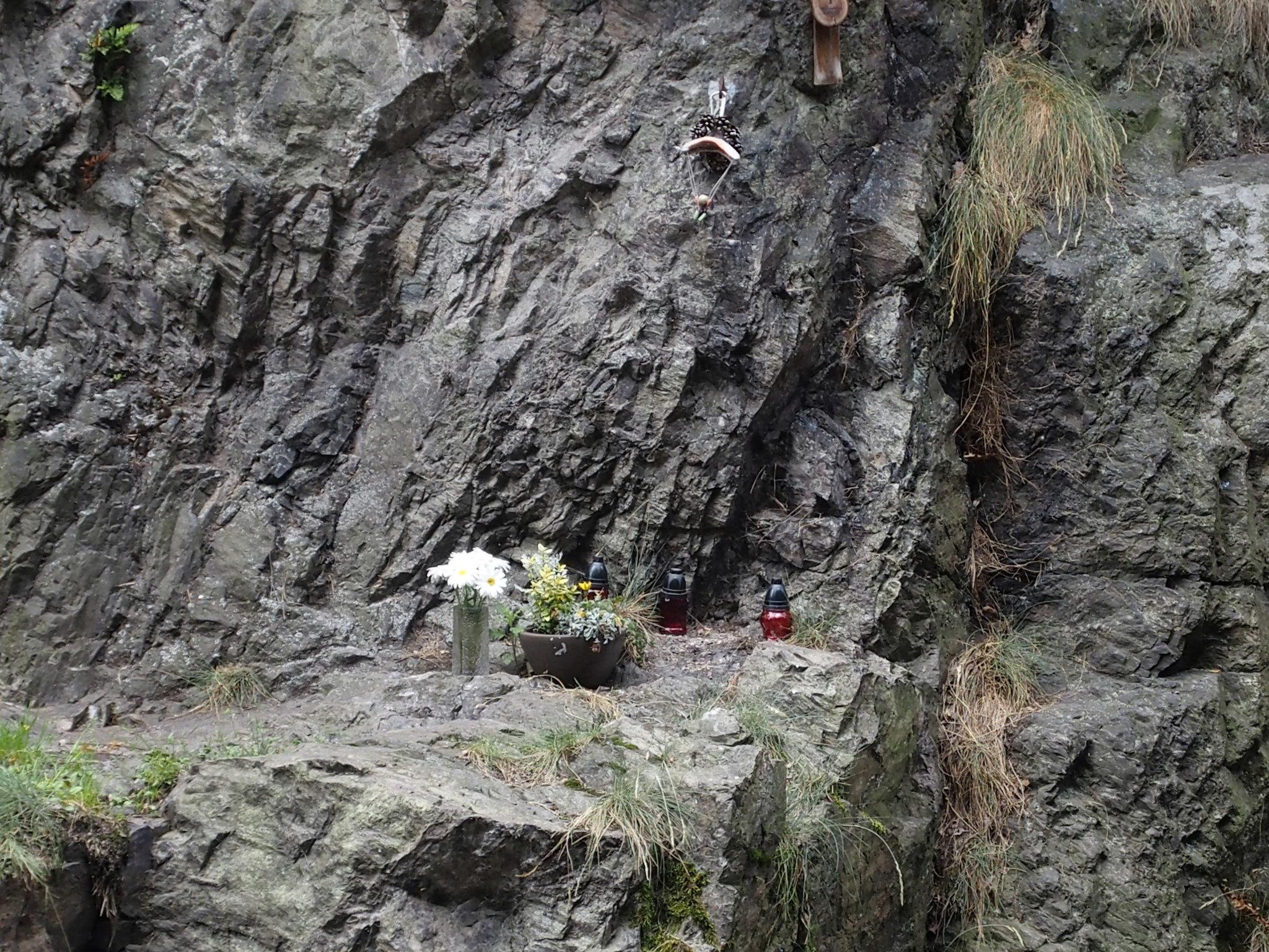 Förolyckad klättrare?