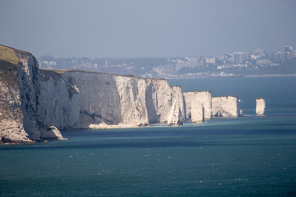 Old Harry Rocks - Click to show full size