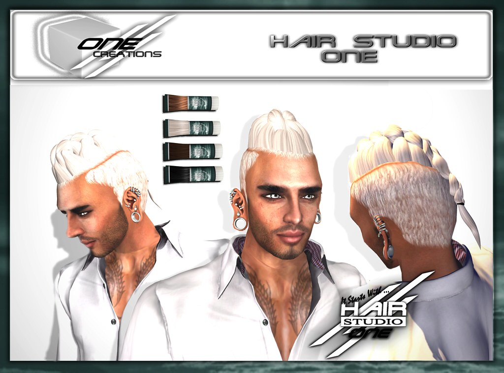 DQ...BRAID MOHAWK - SecondLifeHub.com