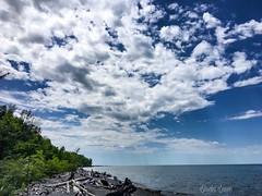 Amazing clouds - Lake Erie Bluffs