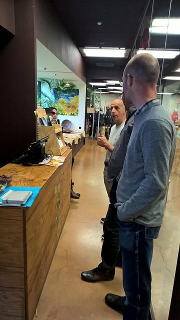 Club des exportateurs de Dordogne : visite de l'entreprise BOVETTI