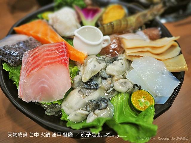 天物成鍋 台中 火鍋 逢甲 餐廳  57