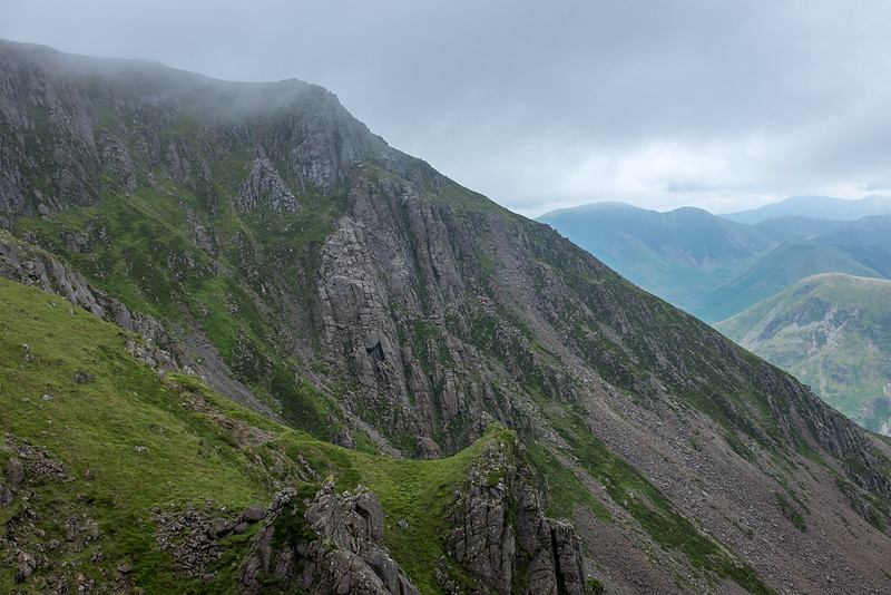 Climbers on Grey Crag