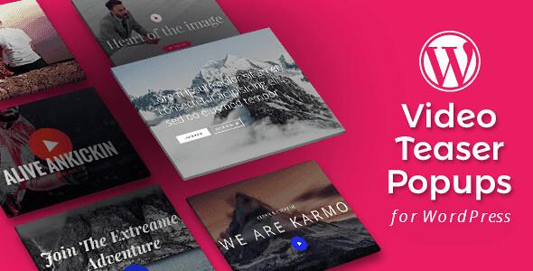 Video Teasers WordPress Plugin free download