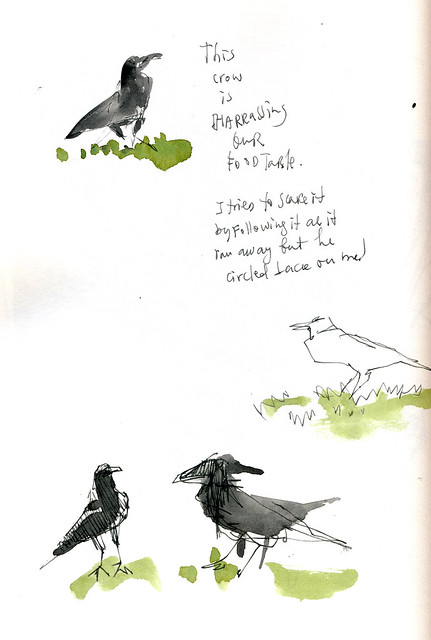 Sketchbook #104: Park Outing