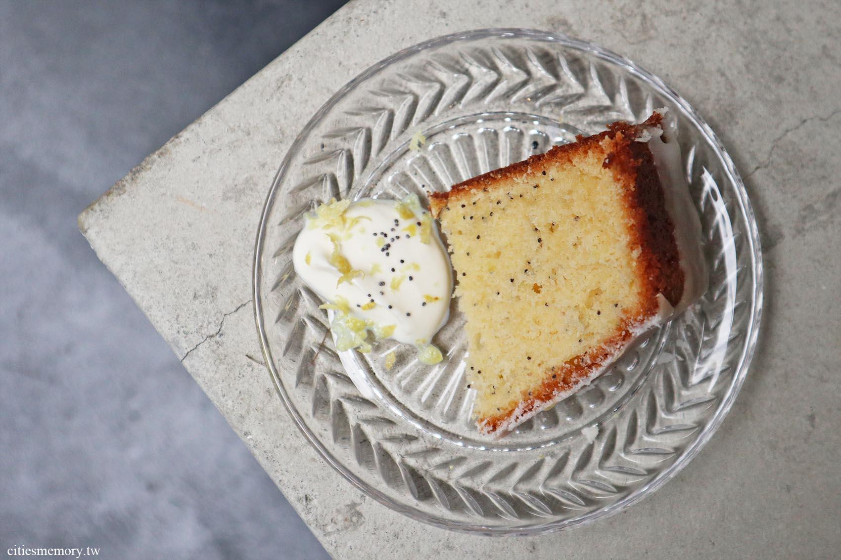 罌粟籽檸檬蛋糕