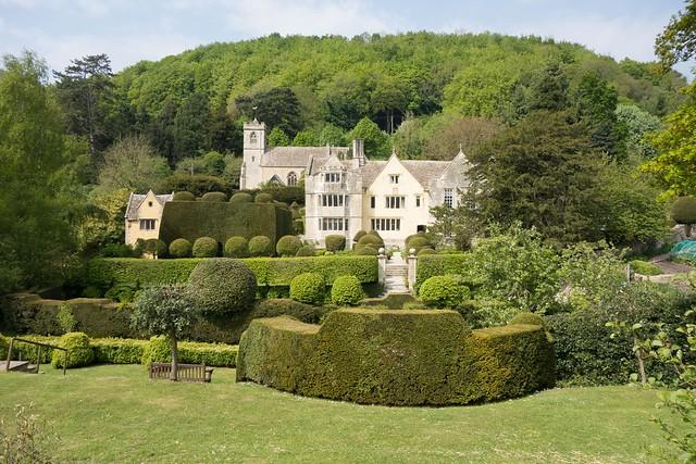 Owlpen Manor Garden - 09
