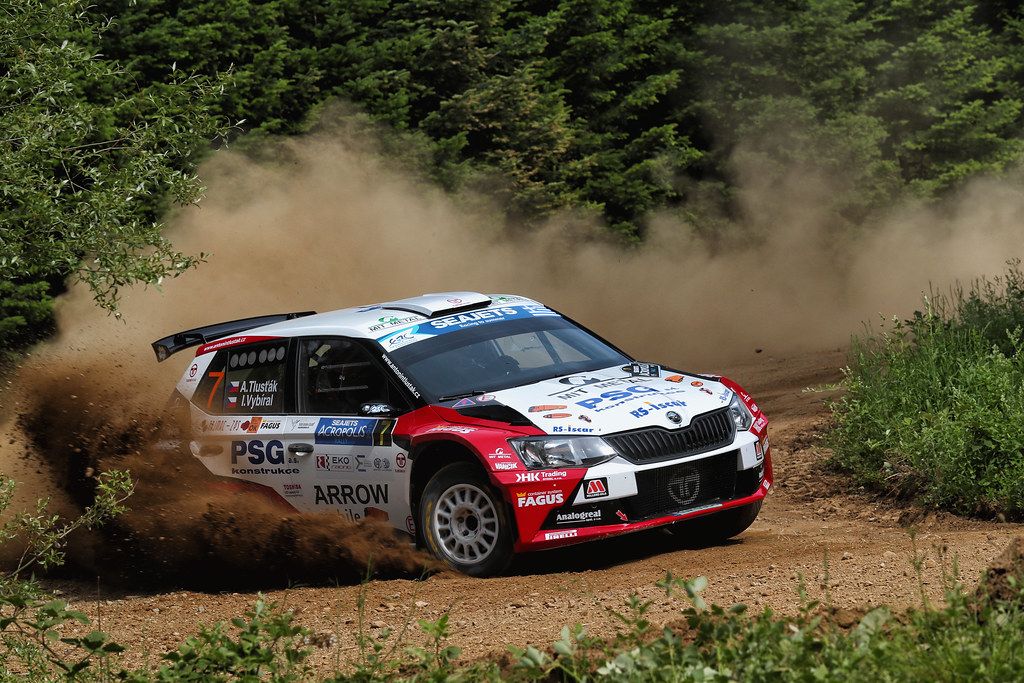07 TLUSTAK Antonin (cze) and VYBIRAL Ivo (cze) action during the European Rally Championship 2017 - Acropolis Rally Of Grece - Loutraki From June 2 to 4 in Loutraki - Photo Gregory Lenormand / DPPI