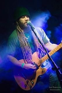 Flux Capacitor's Pete Specht on guitar