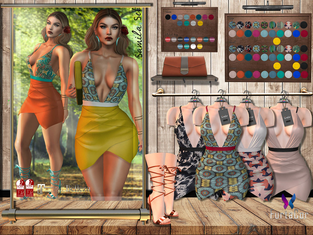 FurtaCor Samila Set - SecondLifeHub.com