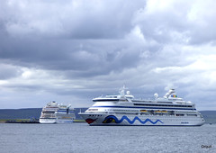 Big Cruise Ships In Orkney Waters