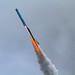 Rocket flying