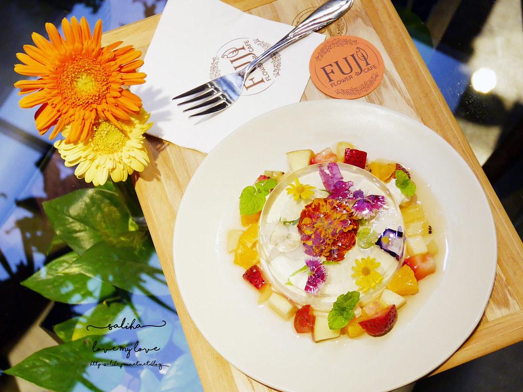 台北信義區花店咖啡館餐廳推薦FUJI FLOWER CAFE (37)