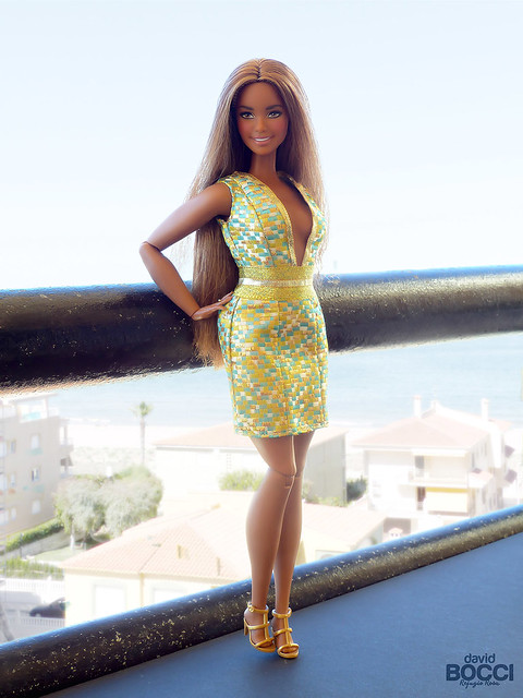 "#TheBarbieLook  ""Curvy articulated body"" custom"