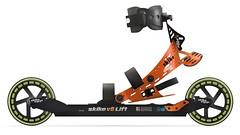 Kolečkové lyže skike - titulní fotka