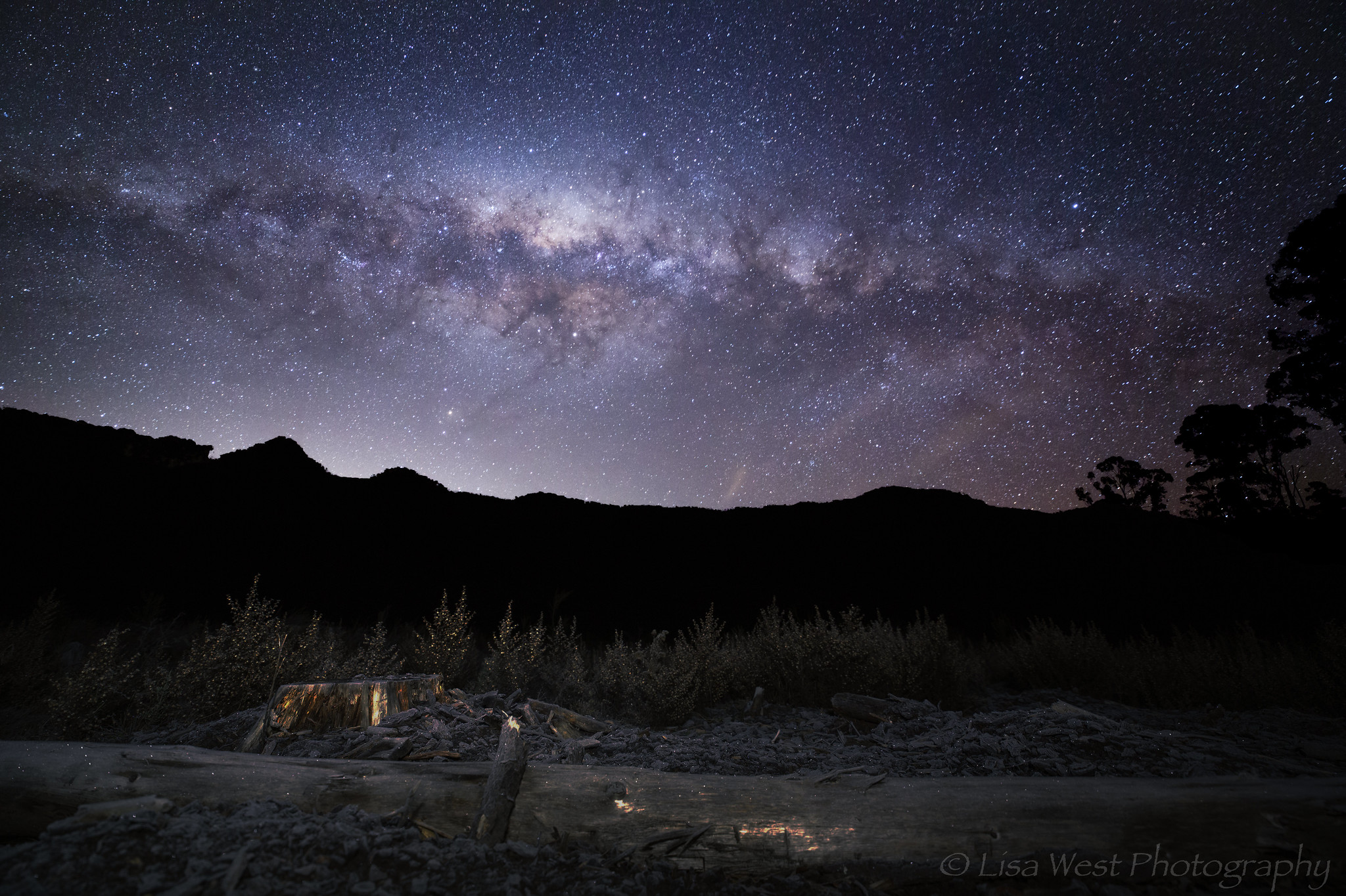 Milky Way over Cathedral Range State Park