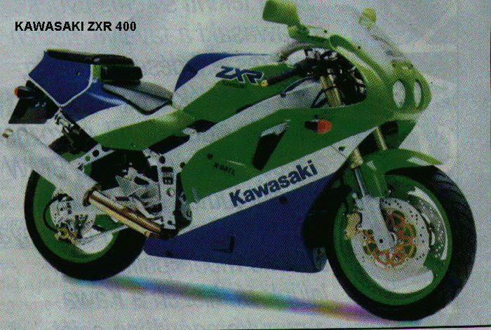 Kawasaki ZXR 400 R 1992 - 3