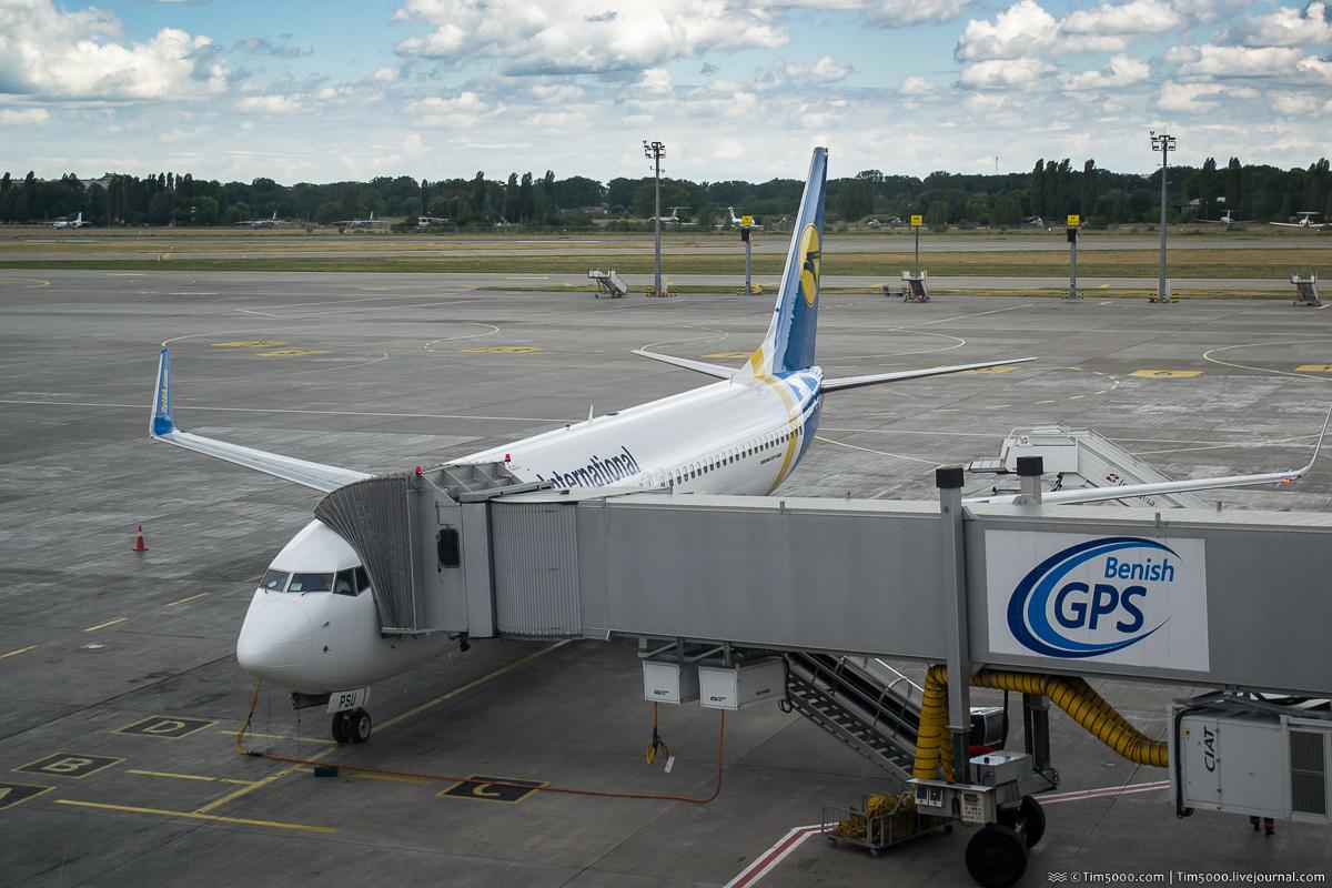Новый рейс МАУ Boeing 737-800 UR-PSU